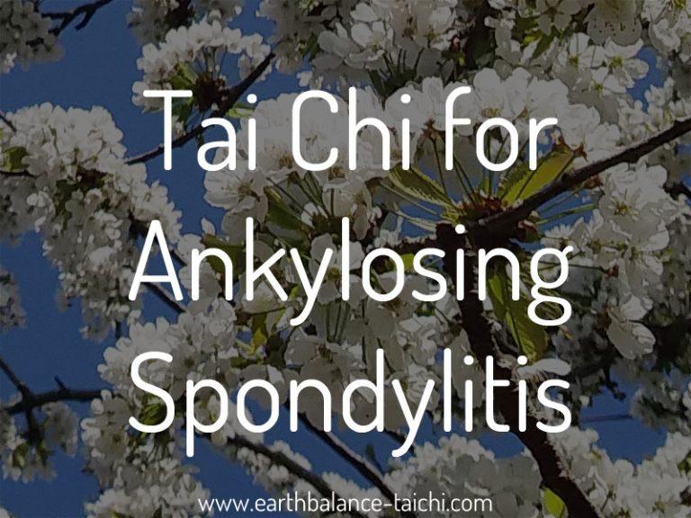 Tai Chi for Ankylosing Spondylitis