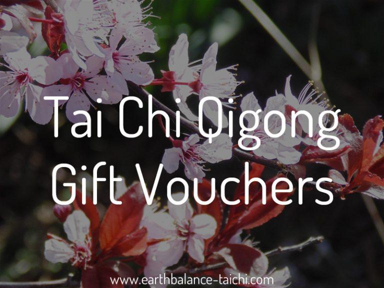 Tai Chi Gift Vouchers