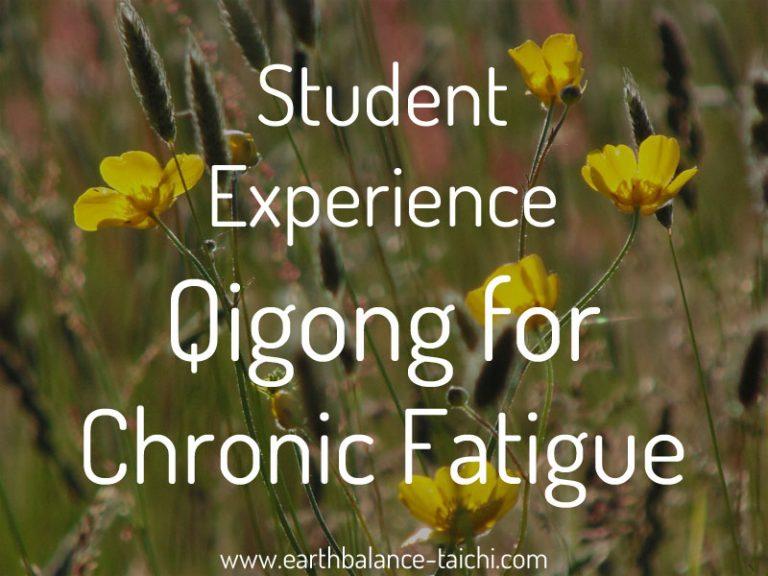 Taiji Qigong Chronic Fatigue