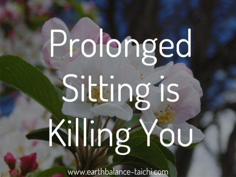 Prolonged Sitting is Killing You