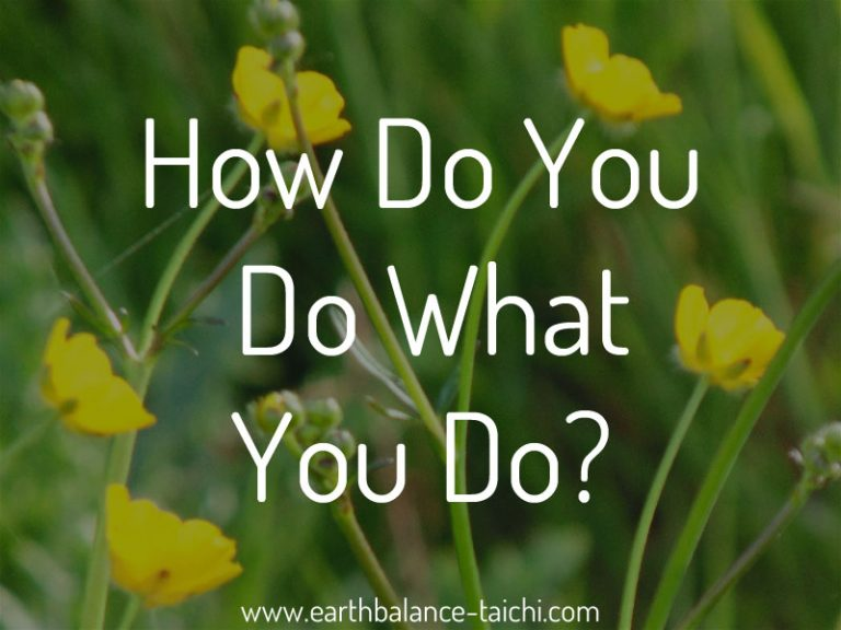 How Do You Do What You Do?