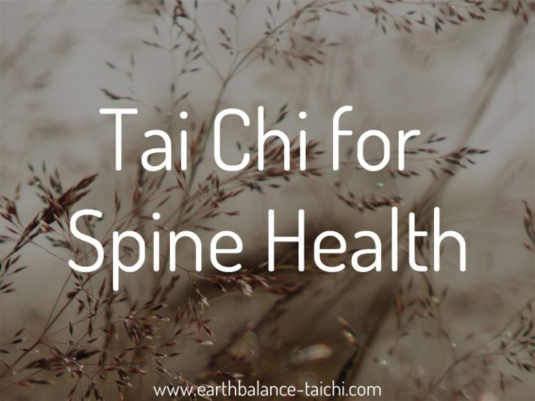 Tai Chi for Spine Health
